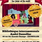 Affiche A3 - spectacle marionnettes